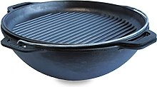 Brizoll Kasan Casserole en fonte pour wok et