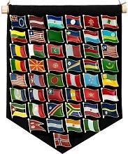 Broches de revers de drapeau, insignes de pays,