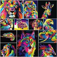 Broderie de diamants 5d, image d'animaux,