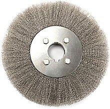 Brosse de roue de banc de 20,3 cm, fil épais