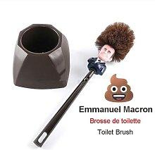 Brosse de Toilette du président français,
