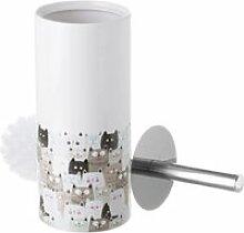 Brosse de toilettes les chats 9.5 x 32 cm