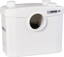 Broyeur sanitaire - 3 postes - 400 W - Sanibroyeur