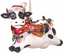 BRUBAKER - Suspension pour Sapin de Noël - Vache