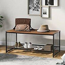 Buat Table basse moderne rectangulaire en métal