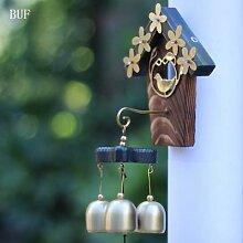 BUF – carillons éoliens en cuivre, nid