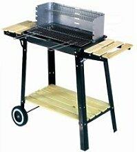 Buffalo: barbecue mobile et pratique ! Bois ou
