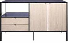 Buffet - bahut - enfilade minsk rangement 2 portes