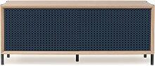 Buffet bas GABIN 122 cm, de Hartô, Bleu gris