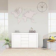 Buffet blanc 120 x 36 x 69 cm