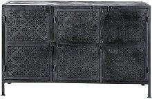 Buffet en métal noir