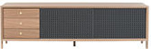 Buffet Gabin / Meuble TV - 3 tiroirs - L 162 cm -