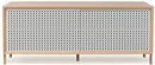 Buffet Gabin / Meuble TV - L 122 cm - Chêne &