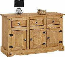 Buffet SALSA commode bahut vaisselier en bois