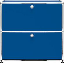 Buffet USM Haller S2, Bleu gentiane