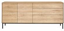 Buffet Whitebird / Chêne massif - L 180 cm / 2