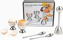 Bugucat Egg Topper, Coupe-oeuf en coquille Outil