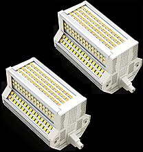 Bulbs 2-Pack R7S Ampoule LED 50W Dimmable Double