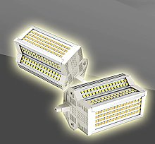 Bulbs 2X 50w R7s LED Ampoule 118mm Dimmable 3000k