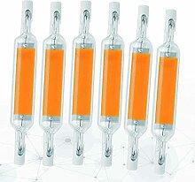 Bulbs 6-pc 10w R7s Ampoules À LED 78mm Blanc