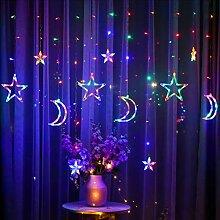 BUNRUN LED Guirlande Lumineuse 3.5 m étoile Lune