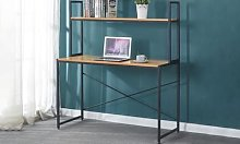 Bureau avec étagère Tucson 120x60x71-141 cm de