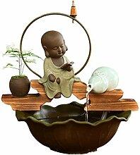 Bureau Chinois Zen Zen intérieur Bureau Fontaine