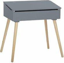 Bureau d'écolier - pupitre en bois - 63,5 x