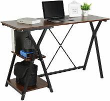 Bureau D'ordinateur avec Etagères De