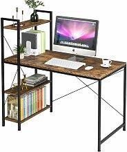 Bureau d'ordinateur Table avec Etagères Table