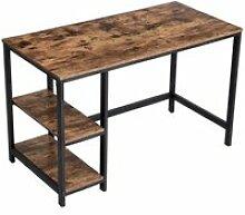 Bureau danny bois métal 120x60xh75 cm