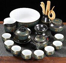 Bureau de ménage Classique thé céramique Set