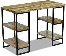 Bureau en bois de manguier 110 x 50 x 76 cm