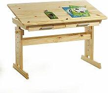 Bureau enfant écolier junior OLIVIA table à