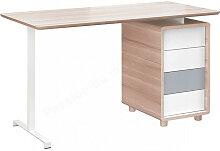 Bureau enfant en bois, 4 tiroirs, Gamme sintra