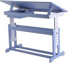 Bureau enfant ergonomique table inclinable