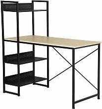 Bureau étagère design industriel - Calicosy