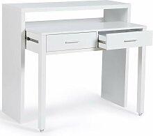 Bureau extensible MAX bois blanc