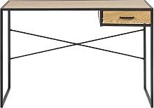 Bureau industriel 1 tiroir