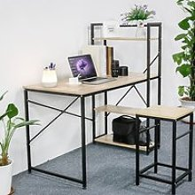 Bureau informatique, 120 x 60 x 120 cm, style