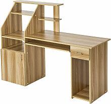 Bureau informatique meuble 164,5 x 55 x 114,5 cm