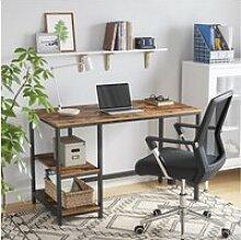 Bureau informatique vintage table d'étude table