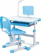 Bureau pour enfant avec chaise et tiroir, bureau