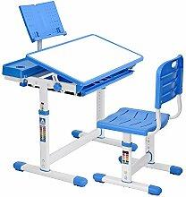 Bureau pour enfant avec chaise, tiroir et
