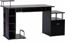 Bureau pour ordinateur table meuble pc