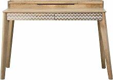 Bureau scandinave style pupitre - Bois clair