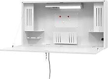 Bureau/secrétaire mural Mini-Office h x l x p 650