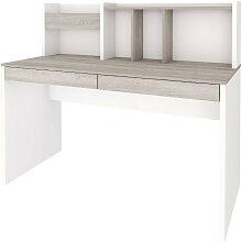 Bureau, sur-meuble Panneaux de bois  Blanc, bois