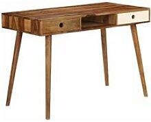 Bureau table meuble travail informatique 110 cm