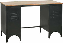 Bureau table meuble travail informatique à double
